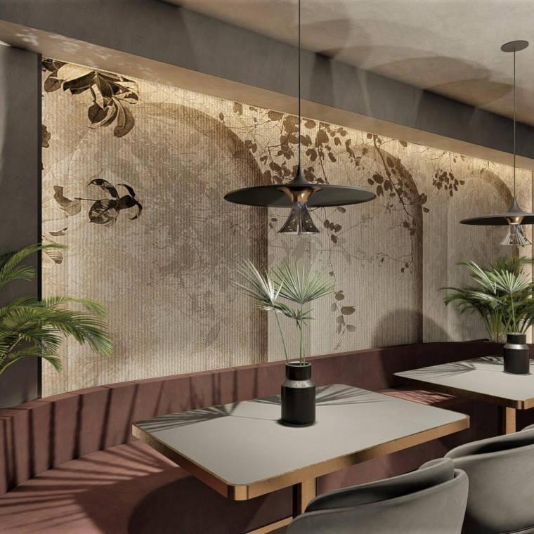 Innenansicht des Café-Bar-Restaurants Ola Kala in Dingolfing aus einem anderen Blickwinkel